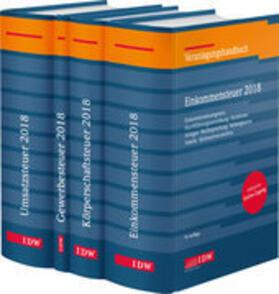 Steuer-Paket 2018: Ertragsteuern und Umsatzsteuer | Buch