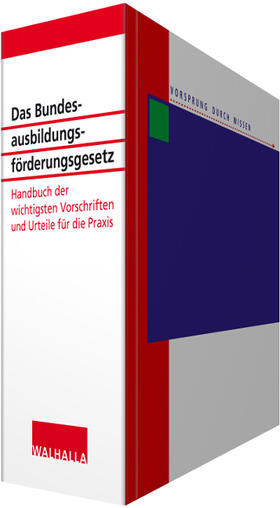 Das Bundesausbildungsförderungsgesetz