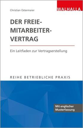 Ostermaier   Der Freie-Mitarbeiter-Vertrag   Buch