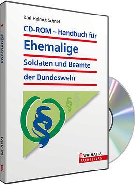 CD-ROM Handbuch für ehemalige Soldaten und Beamte der Bundeswehr (Grundversion)