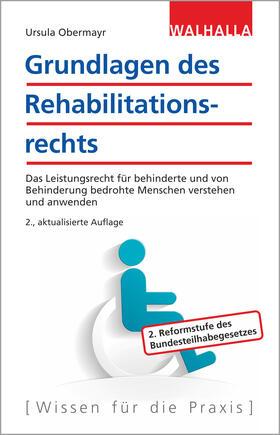 Obermayr | Grundlagen des Rehabilitationsrechts | Buch