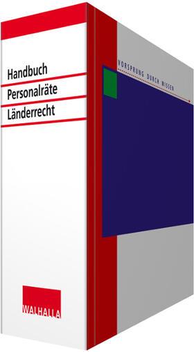 Handbuch für Personalräte Länderrecht | Loseblattwerk