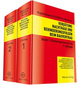 Kapellmann/Schiffers/Markus | Vergütung, Nachträge und Behinderungsfolgen beim Bauvertrag  | Buch