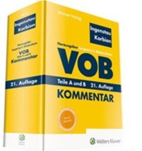 Ingenstau / Korbion / Leupertz | VOB Teile A und B Kommentar | Buch