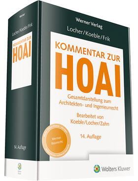 Locher / Koeble / Frik | Kommentar zur HOAI | Buch