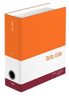 Delta Liste, 162. Auflage, Gesamtwerk