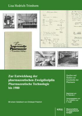 Zur Entwicklung der pharmazeutischen Zweigdisziplin Pharmazeutische Technologie bis 1980
