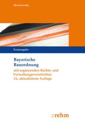 Bayerische Bauordnung, Textausgabe