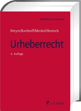 Dreyer/Kotthoff/Meckel   Urheberrecht   Buch