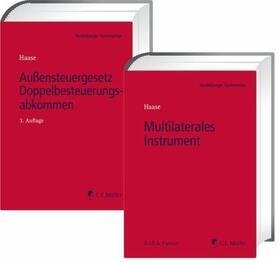 Außensteuergesetz (AStG), Doppelbesteuerungsabkommen (DBA) / Multilaterales Instrument (MLI), 2 Bde.