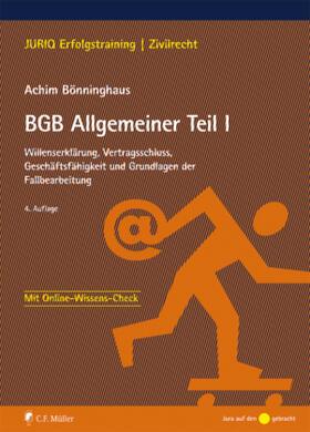 BGB Allgemeiner Teil I