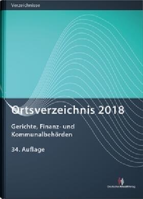 Ortsverzeichnis 2018