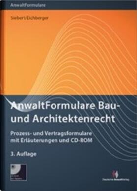 AnwaltFormulare Bau- und Architektenrecht