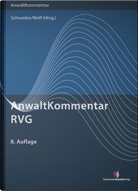 AnwaltKommentar RVG - Mängelexemplar, kann leichte Gebrauchsspuren aufweisen. Sonderangebot ohne Rückgaberecht. Nur solange der Vorrat reicht.