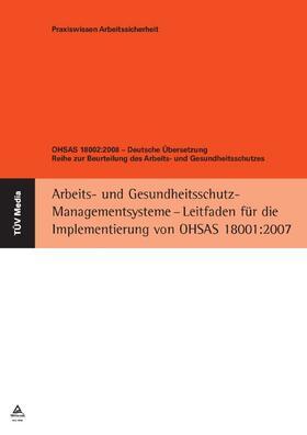 OHSAS 18002:2008 - Deutsche Übersetzung