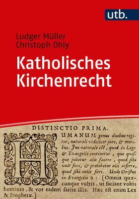Ohly / Müller   Katholisches Kirchenrecht   Buch