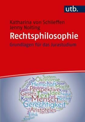 Gräfin von Schlieffen / Nolting | Rechtsphilosophie | Buch