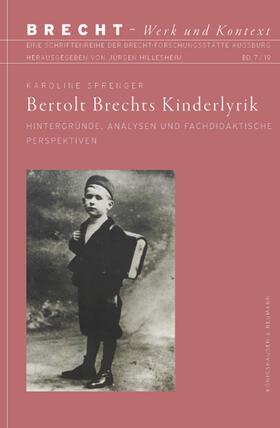 Bertolt Brechts Kinderlyrik