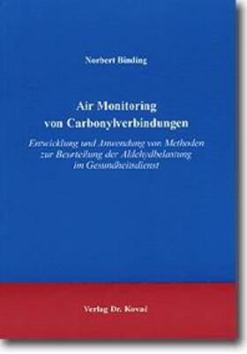 Air Monitoring von Carbonylverbindungen