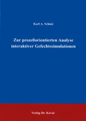 Zur prozessorientierten Analyse interaktiver Gefechtssimulation