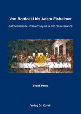 Von Botticelli bis Adam Elsheimer