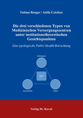 Die drei verschiedenen Typen von Medizinischen Versorgungszentren unter institutionstheoretischen Gesichtspunkten