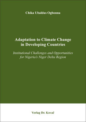 Adaptation to Climate Change in Developing Countries