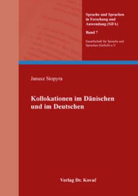Kollokationen im Dänischen und im Deutschen