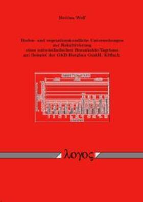 Boden- und vegetationskundliche Untersuchungen zur Rekultivierung eines mittelständischen Braunkohle-Tagebaus am Beispiel der GKB-Bergbau GmbH, Köflach
