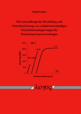 Pulvermetallurgische Herstellung und Charakterisierung von oxidationsbeständigen Molybdänbasislegierungen für Hochtemperaturanwendungen