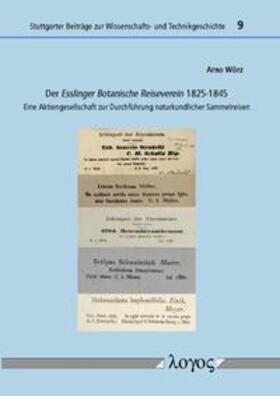 Der Esslinger Botanische Reiseverein 1825-1845