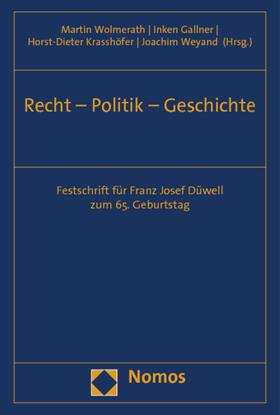 Recht - Politik - Geschichte
