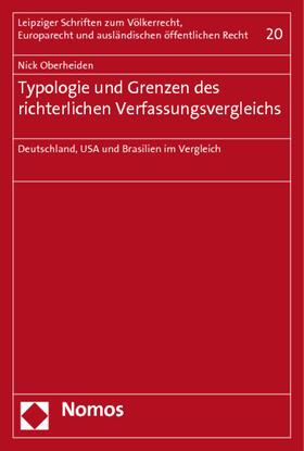 Oberheiden | Typologie und Grenzen des richterlichen Verfassungsvergleichs | Buch