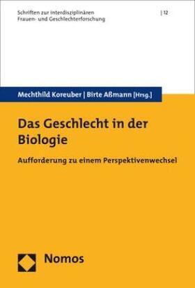 Das Geschlecht in der Biologie