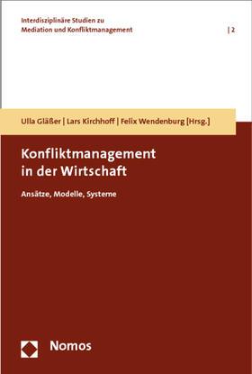 Konfliktmanagement in der Wirtschaft