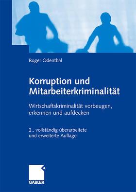Odenthal | Korruption und Mitarbeiterkriminalität | Buch