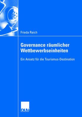 Governance räumlicher Wettbewerbseinheiten