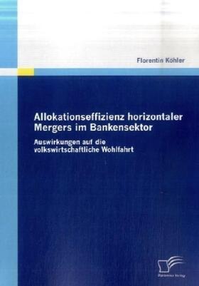 Allokationseffizienz horizontaler Mergers im Bankensektor