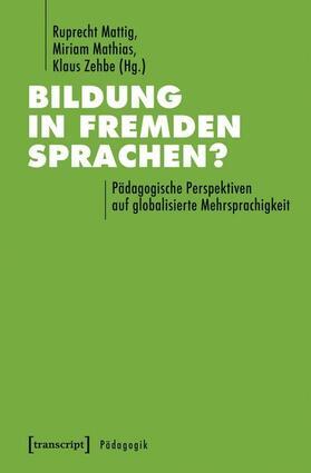 Bildung in fremden Sprachen?