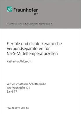 Flexible und dichte keramische Verbundseparatoren für Na-S-Mitteltemperaturzellen.