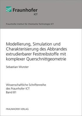 Modellierung, Simulation und Charakterisierung des Abbrandes extrudierbarer Festtreibstoffe mit komplexer Querschnittgeometrie.