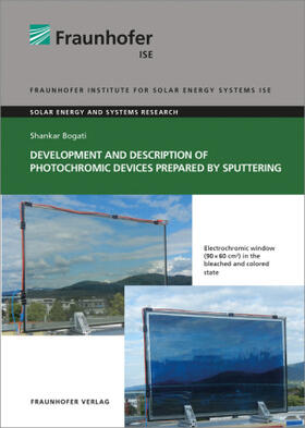 Development and Description of Photochromic Devices Prepared by Sputtering.