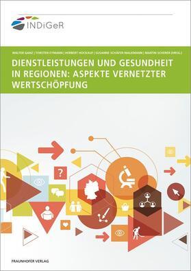 Dienstleistungen und Gesundheit in Regionen