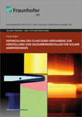 Entwicklung des Float-Zone-Verfahrens zur Herstellung von Siliziumeinkristallen für solare Anwendungen.