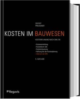 Seifert/Preussner | Baukostenplanung | Buch