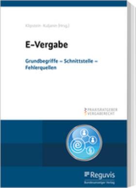 Klipstein/Kuljanin | E-Vergabe | Buch