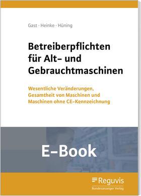 Betreiberpflichten für Alt- und Gebrauchtmaschinen (E-Book)