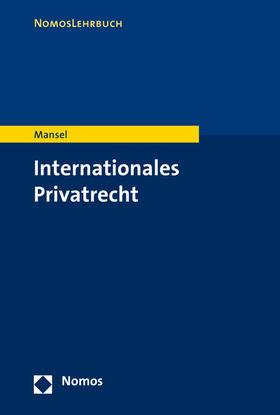 Mansel   Internationales Privatrecht   Buch