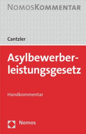 Cantzler   Asylbewerberleistungsgesetz   Buch