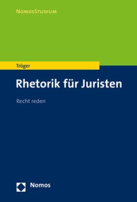 Tröger | Recht reden | Buch